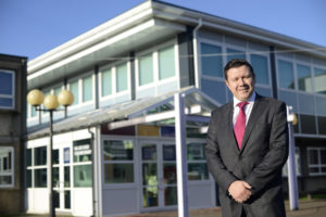 Headteacher Andrew Burns supports the National Tutoring Programme