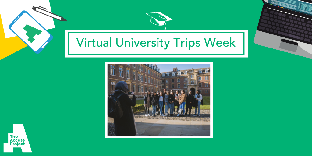 Virtual trips help disadvantaged students picture a future at university thanks to The Access Project