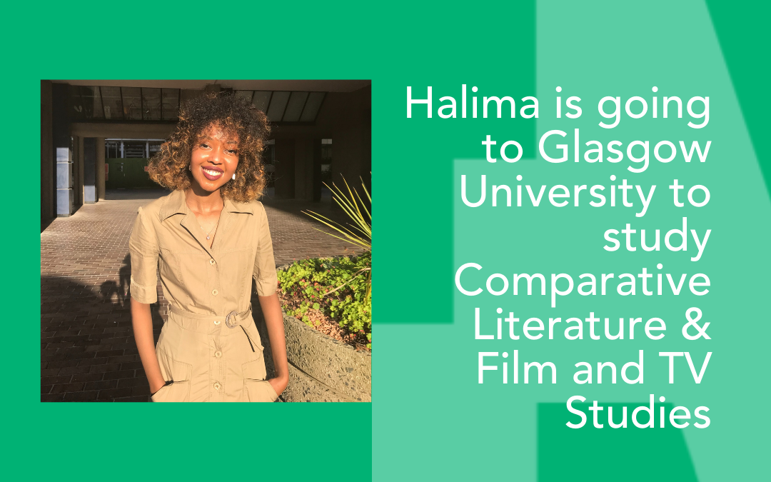 This A level results day Halima is one step closer to improving diversity in British film and TV