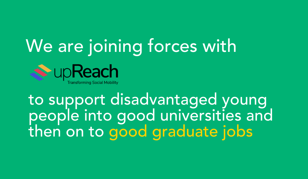 The Access Project and upReach join forces to improve chances for disadvantaged young people